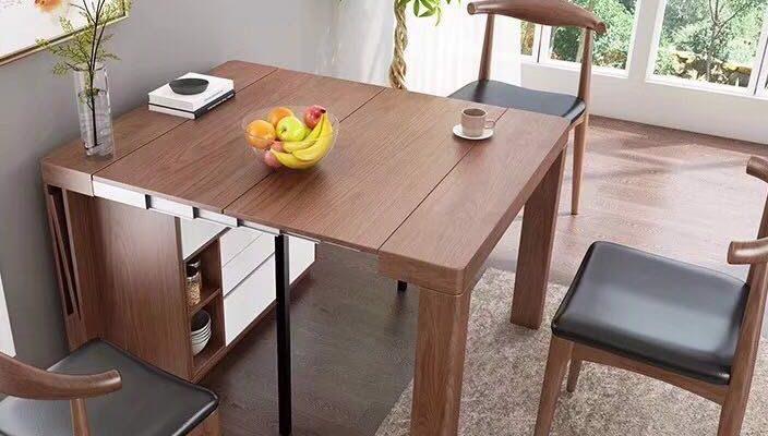 Những chiếc bàn ăn thông minh giải pháp hiệu qua cho những căn hộ có diện tích phòng bếp nhỏ