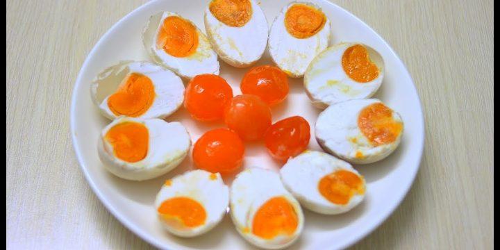 Trứng vịt muối được xuất khẩu sang thị trường nước ngoài ngày càng nhiều